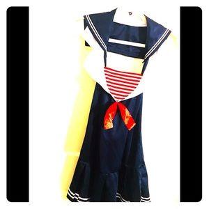 ⚡️🎃  Sexy Sailor Halloween costume!⚡️